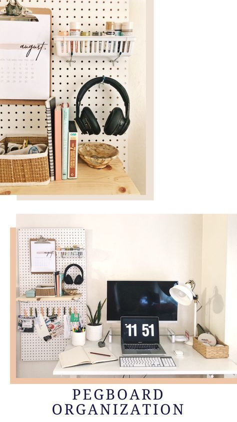 19 diy Organization desk ideas