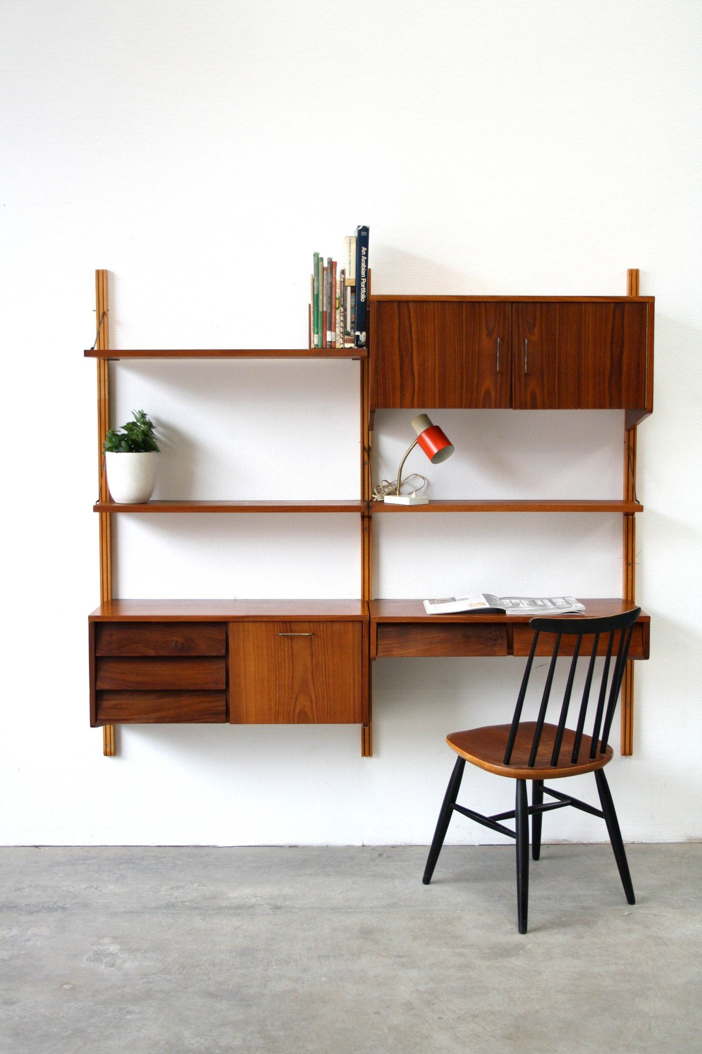 Deens design wandkast wandmeubel build stuff bureau for Deens design meubelen