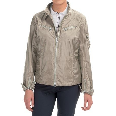 Bogner Baika Crop Golf Jacket (For Women)