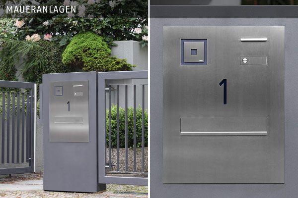 lippert briefkasten anlagen basic pfeileranlagen maueranlagen doors pinterest doors. Black Bedroom Furniture Sets. Home Design Ideas