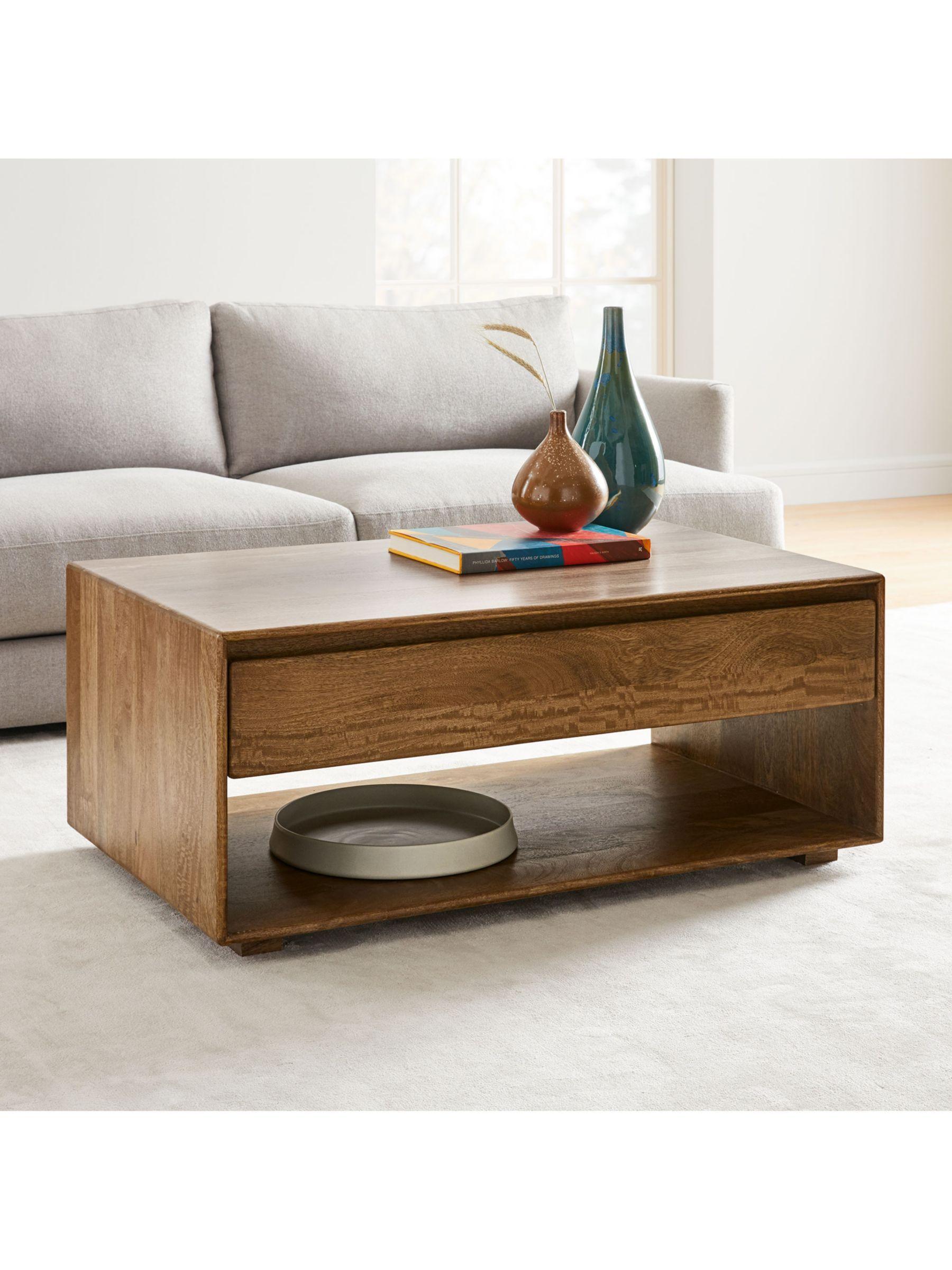 West Elm Anton Storage Coffee Table Brown In 2020 Coffee Table With Storage Coffee Table Rectangle Coffee Table Wood [ 2400 x 1800 Pixel ]