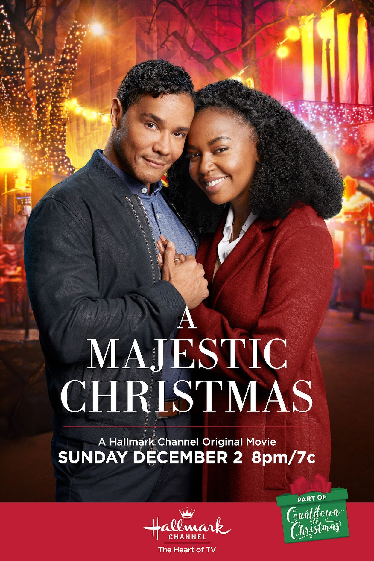 Jerrika Hinton And Christian Vincent Will Create A Majestic Christmas In The Town Hallmark Channel Christmas Movies Hallmark Christmas Movies Hallmark Movies