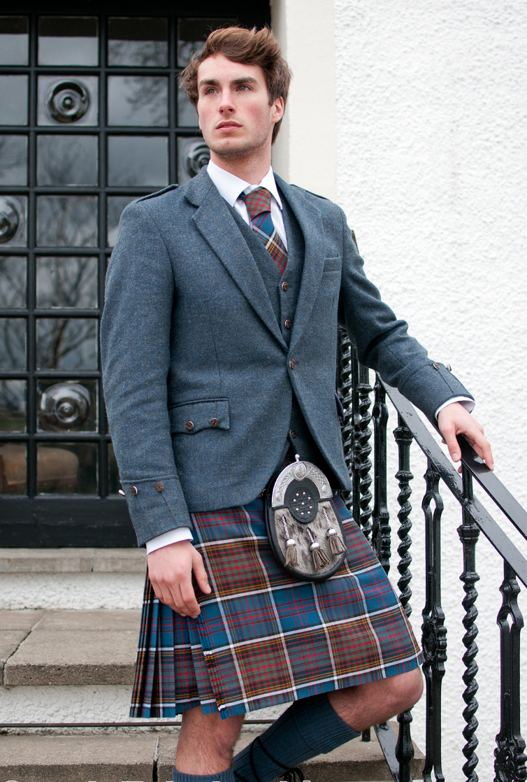 Informal Day Wear Noting That Informal Is Coat And Tie Not Casual The Sporran Dresses It Up Somewhat Kilt Outfits Kilt Jackets Kilt