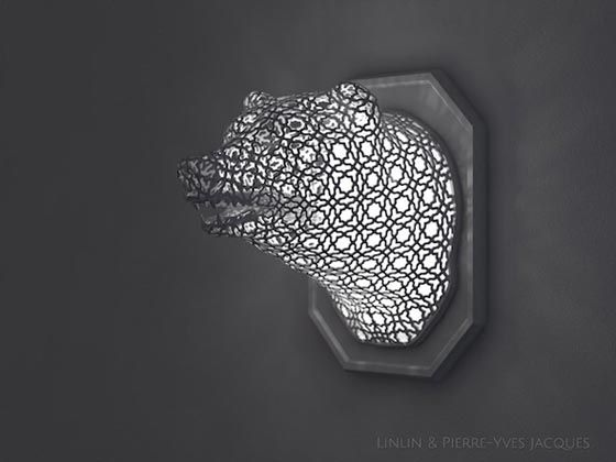 Animal Lace: Spectacular Wall Sculpture by Linlin and Pierre-Yves Jacques – DesignSwan.com
