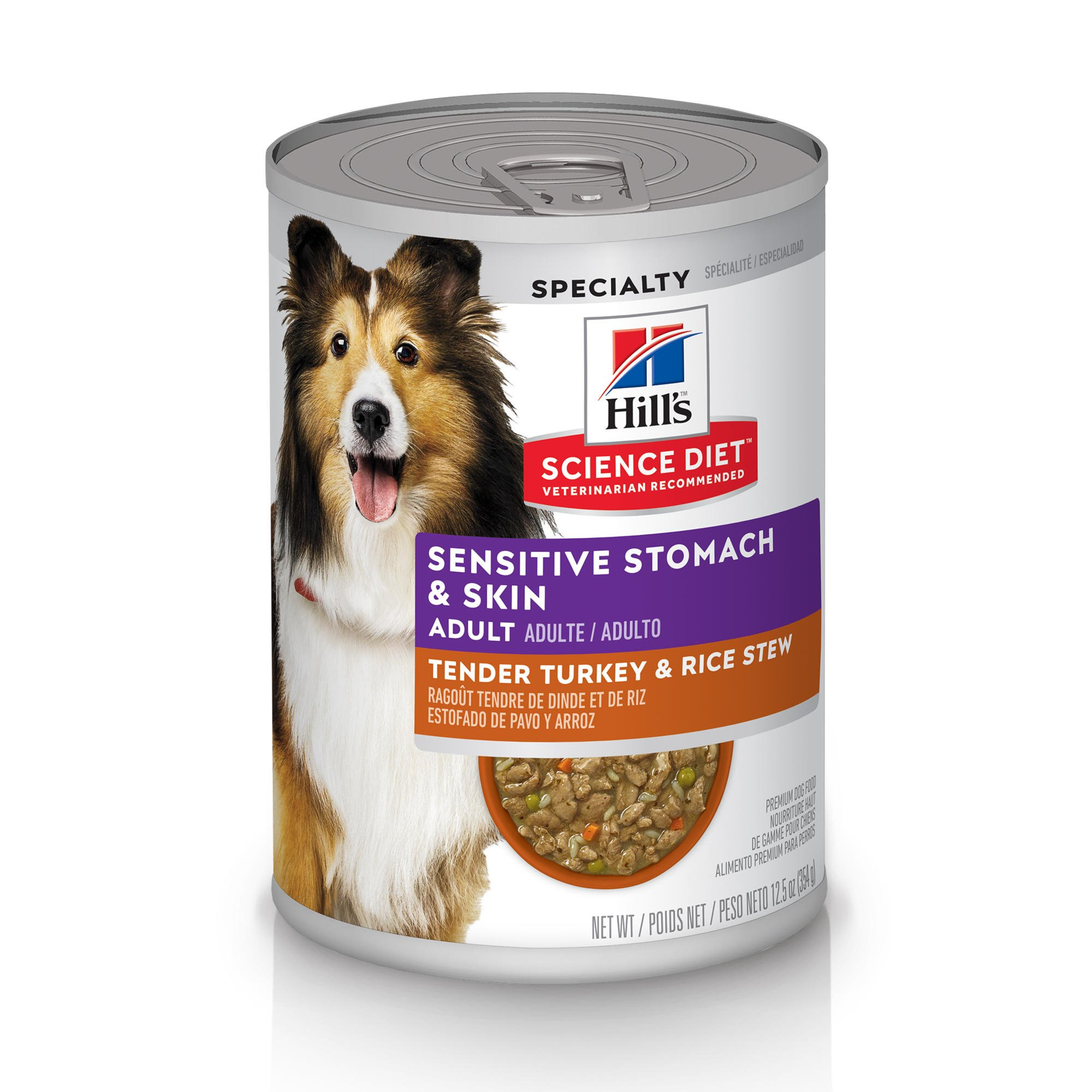 Hill S Science Diet Adult Sensitive Stomach Skin Tender Turkey
