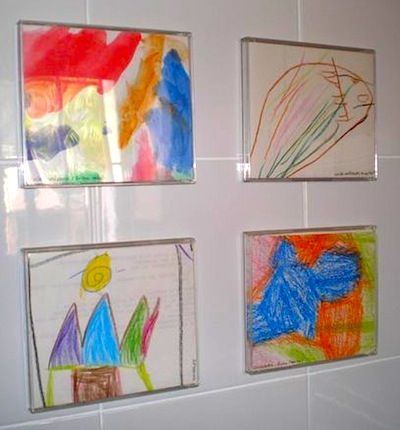 Instructables CD cases to frame children\u0027s art kids art and craft