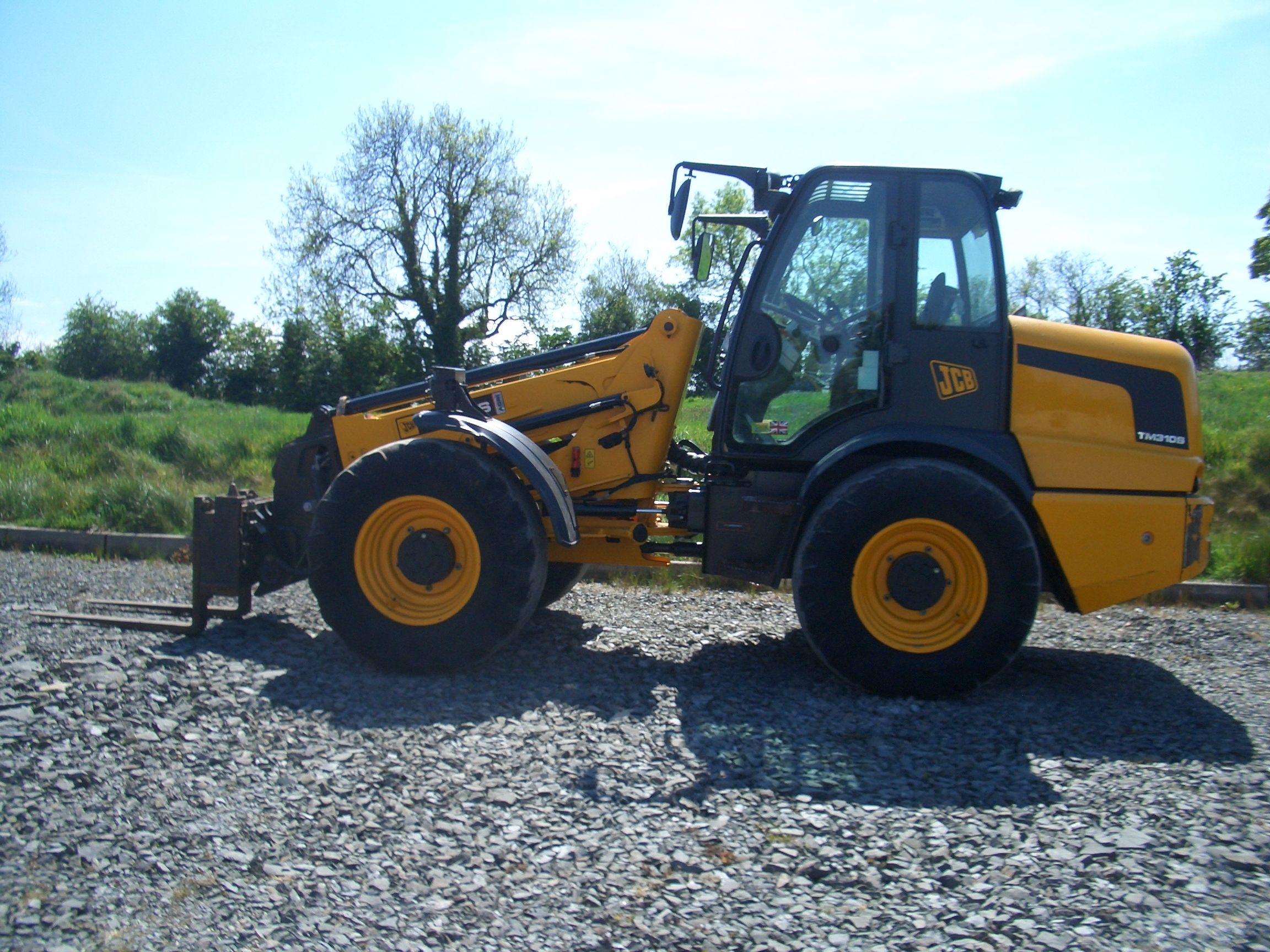 2008 JCB TM310S £40,000.00 PUH Ready, Smoothride, Air
