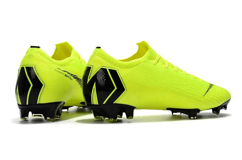 Nike Mercurial Vapor 12 Elite FG Man Boots - Volt Black Zapatos De Fútbol 50c57acdb3e0f