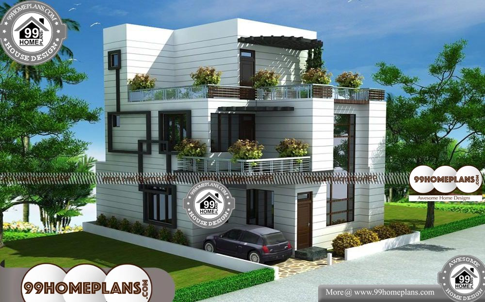 Small House Low Budget 100 Contemporary 2 Storey House Designs 2 Storey House Design Modern House Plans Small House Design