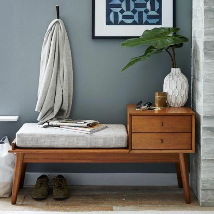 le banc de rangement un meuble fonctionnel qui personnalise le d cor pinterest. Black Bedroom Furniture Sets. Home Design Ideas
