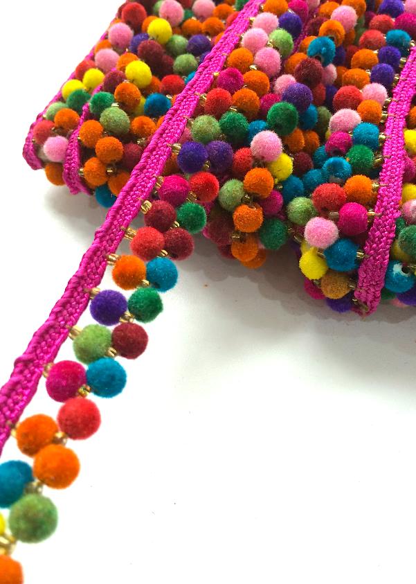 a8938e6362 Pin by Debra Rodriguez on Fiesta | Crafts, Pom pom trim, Pom pom crafts