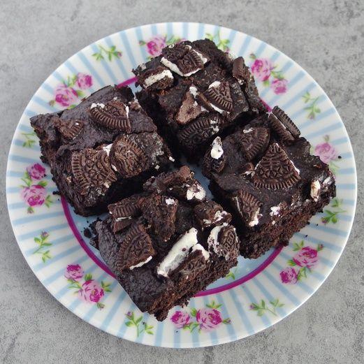 Oreo Brownies Recipe (No Flour, No Butter)