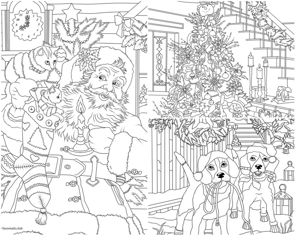 Free Christmas Coloring Pages For The Holiday Season