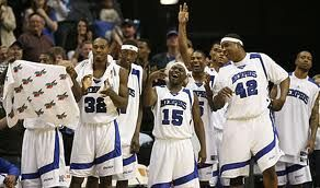 Memphis Tiger basketball  I love The Memphis Tiger Basketball Program!.. I remember this team. :)