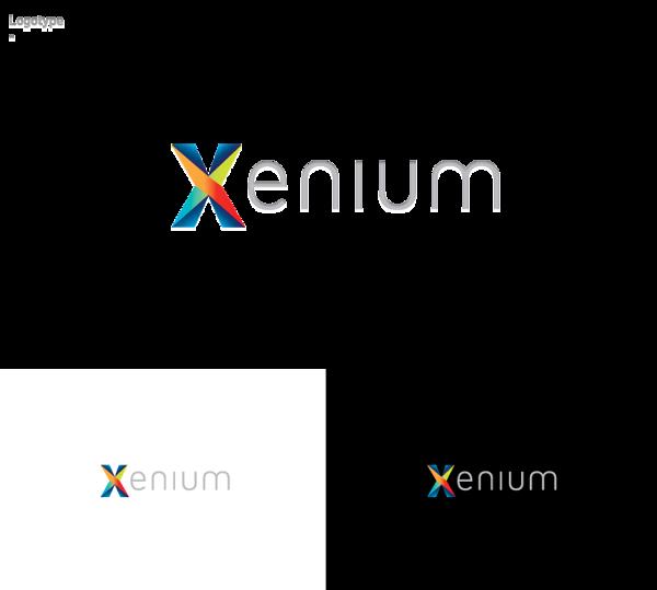 Xenium logo branding on behance