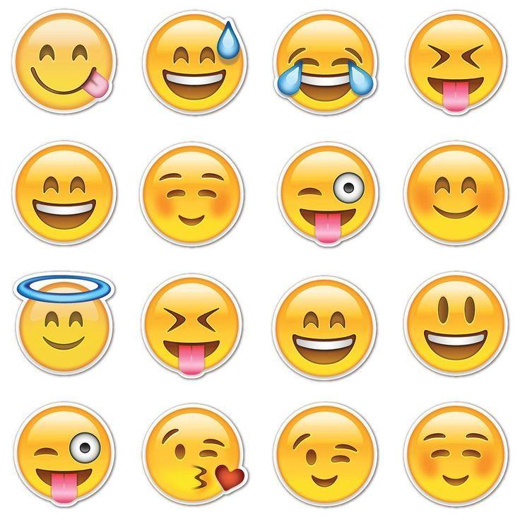 Vorlage zum Ausdrucken: | Ostern Basteln Dekoration | Emoji