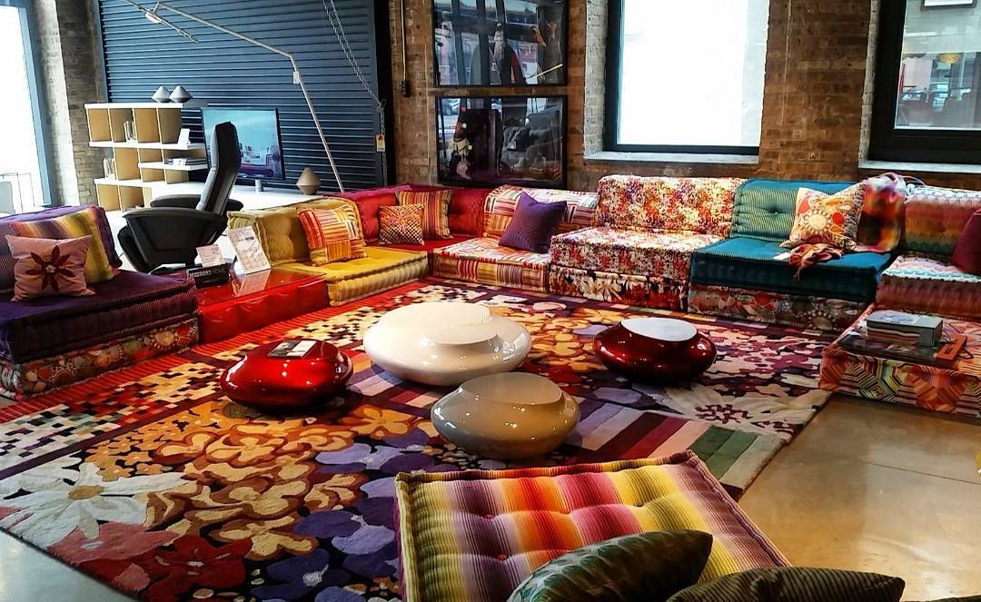 The Iconic Roche Bobois Mah Jong Modular Sofa Since 1970