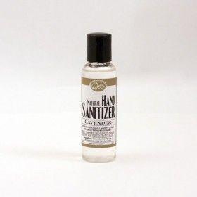 Lavender Hand Sanitizer Natural Skincare Lavender