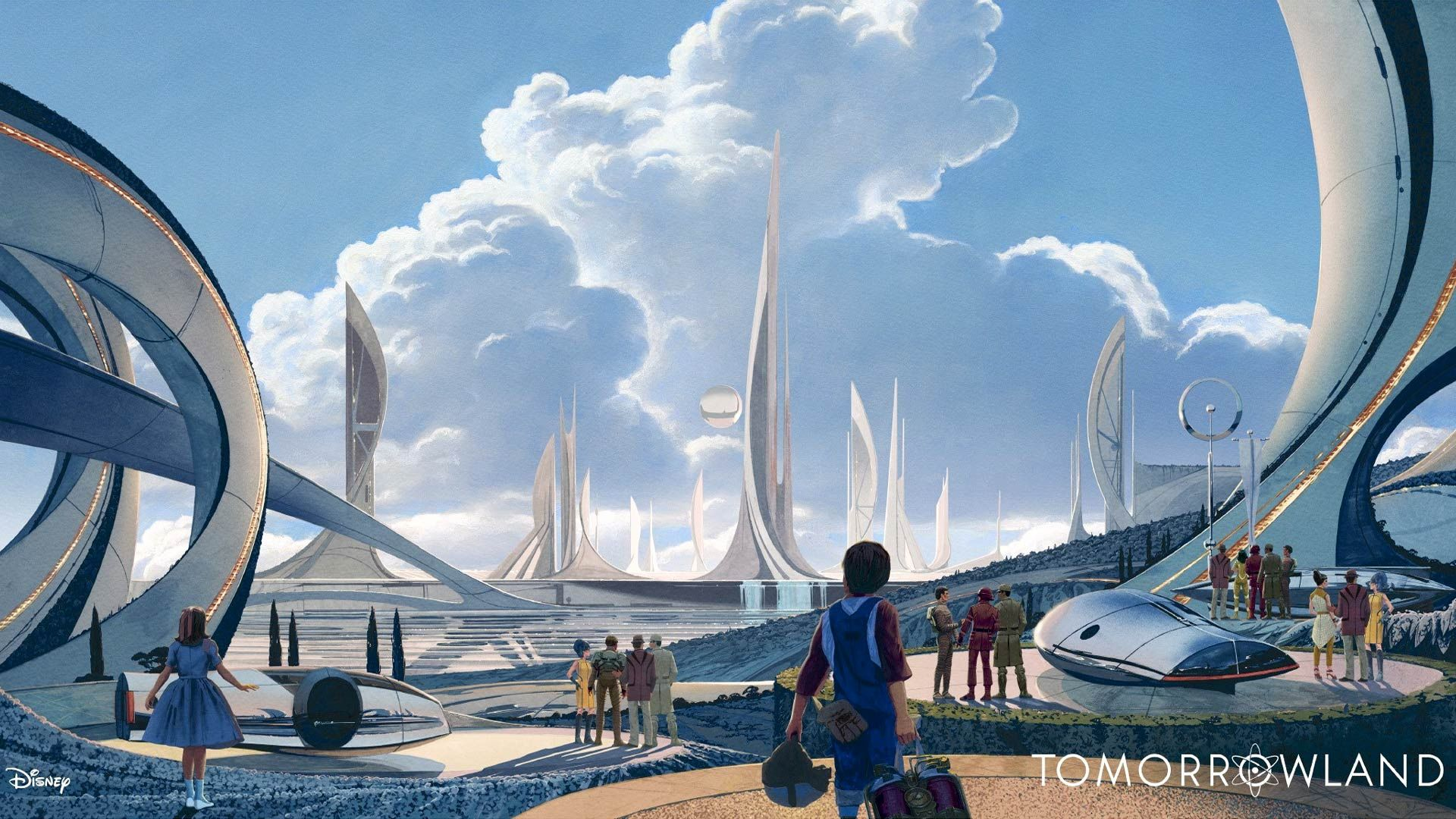 Tomorrowland Movie Wallpapers wallpapers Tomorrowland film Syd uk