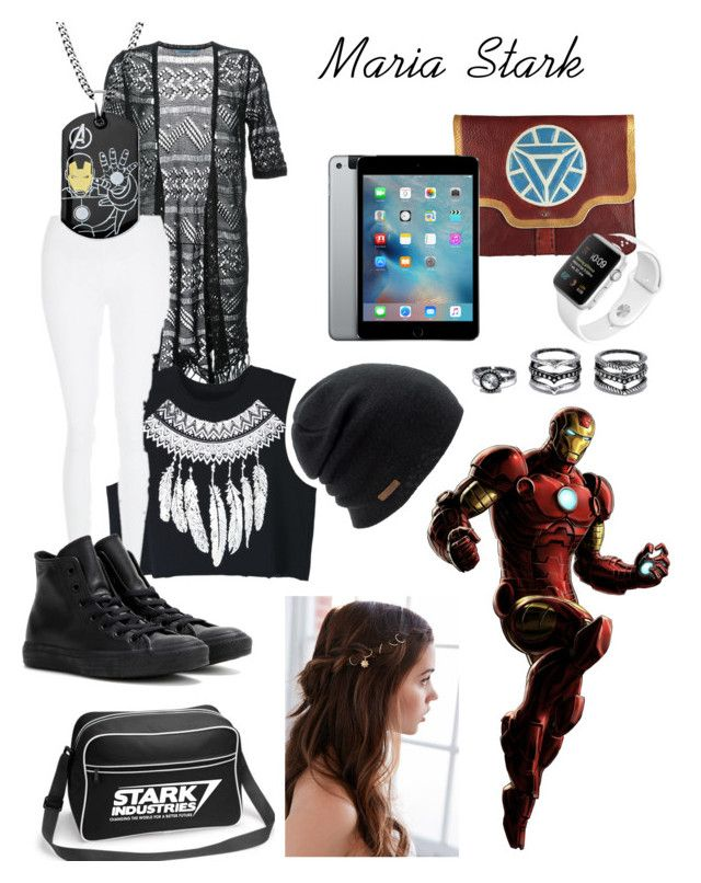 Maria Stark - Daughter of Tony Stark (Ironman)   My Polyvore