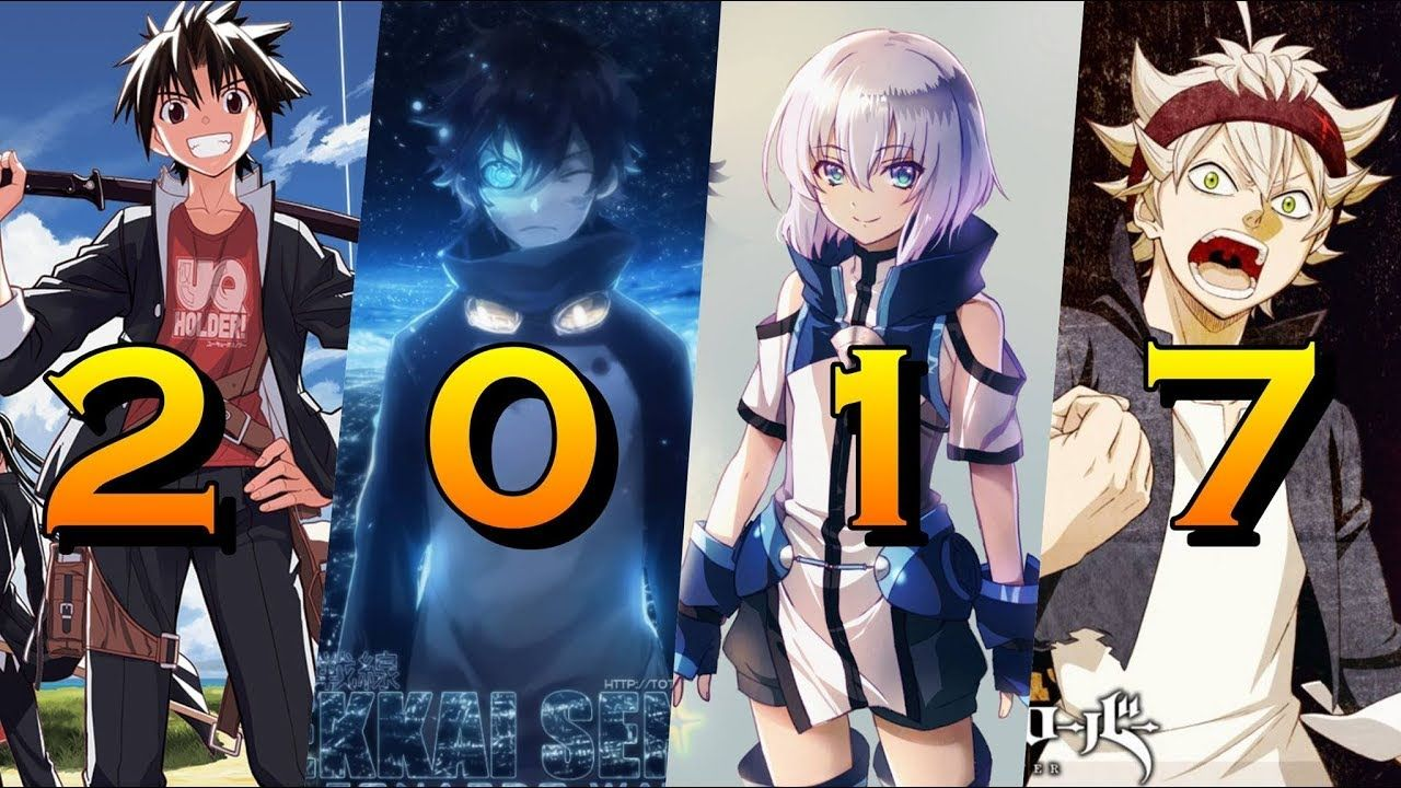 15 most popular anime recommendations in 2017
