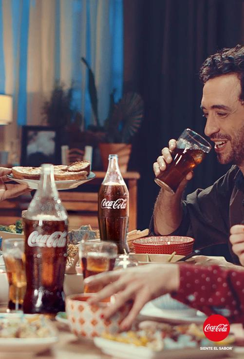 Publicidad Coca Cola Siente El Sabor Pin En Coke Meals