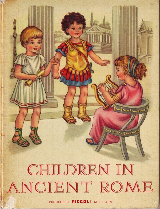 Roman Children At School