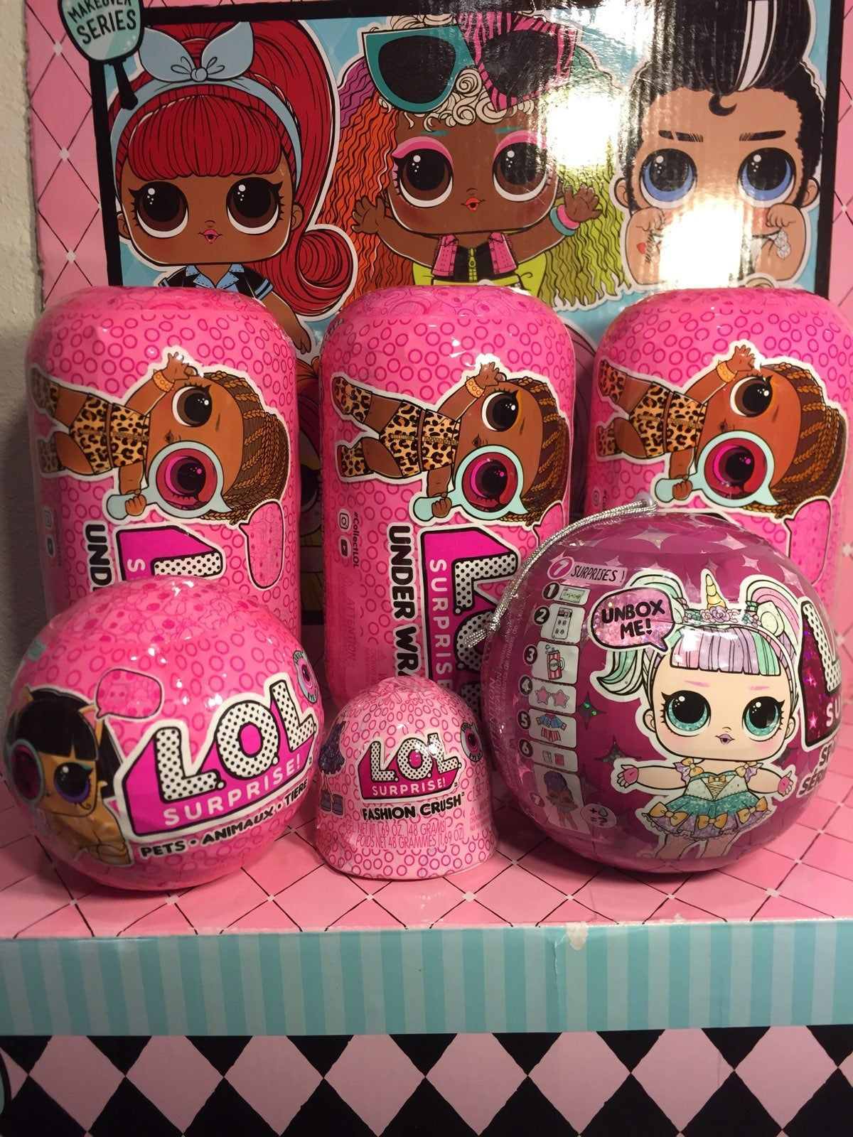 NEW Sealed LOL Surprise Dolls Under Wraps Series 4 Wave 2 Lot of 3 IN HAND NOW