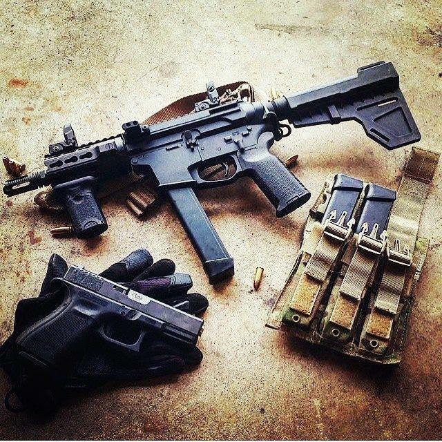 QuarterCircle 10 9mm AR15 - Glock Lower | Tactical Gear | Guns, Ar