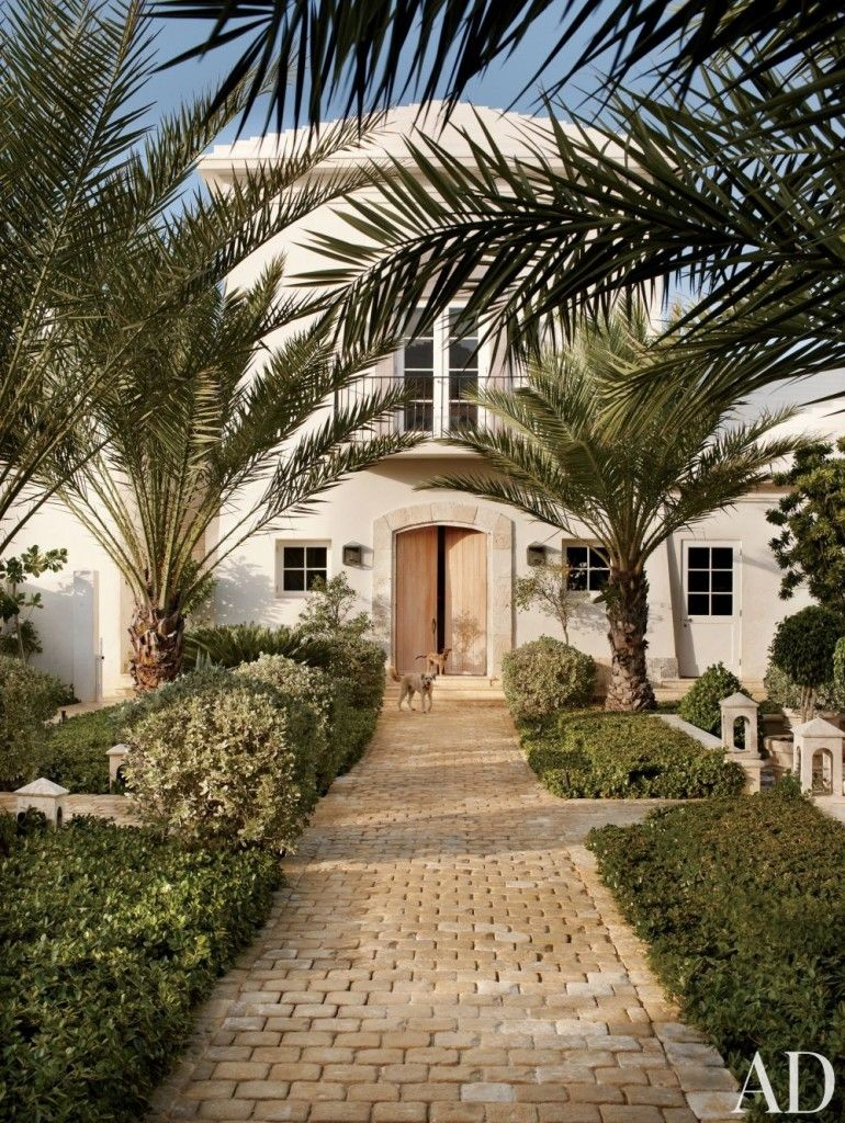 The stunning grounds of a home in the Dominican Republic, decorated ...