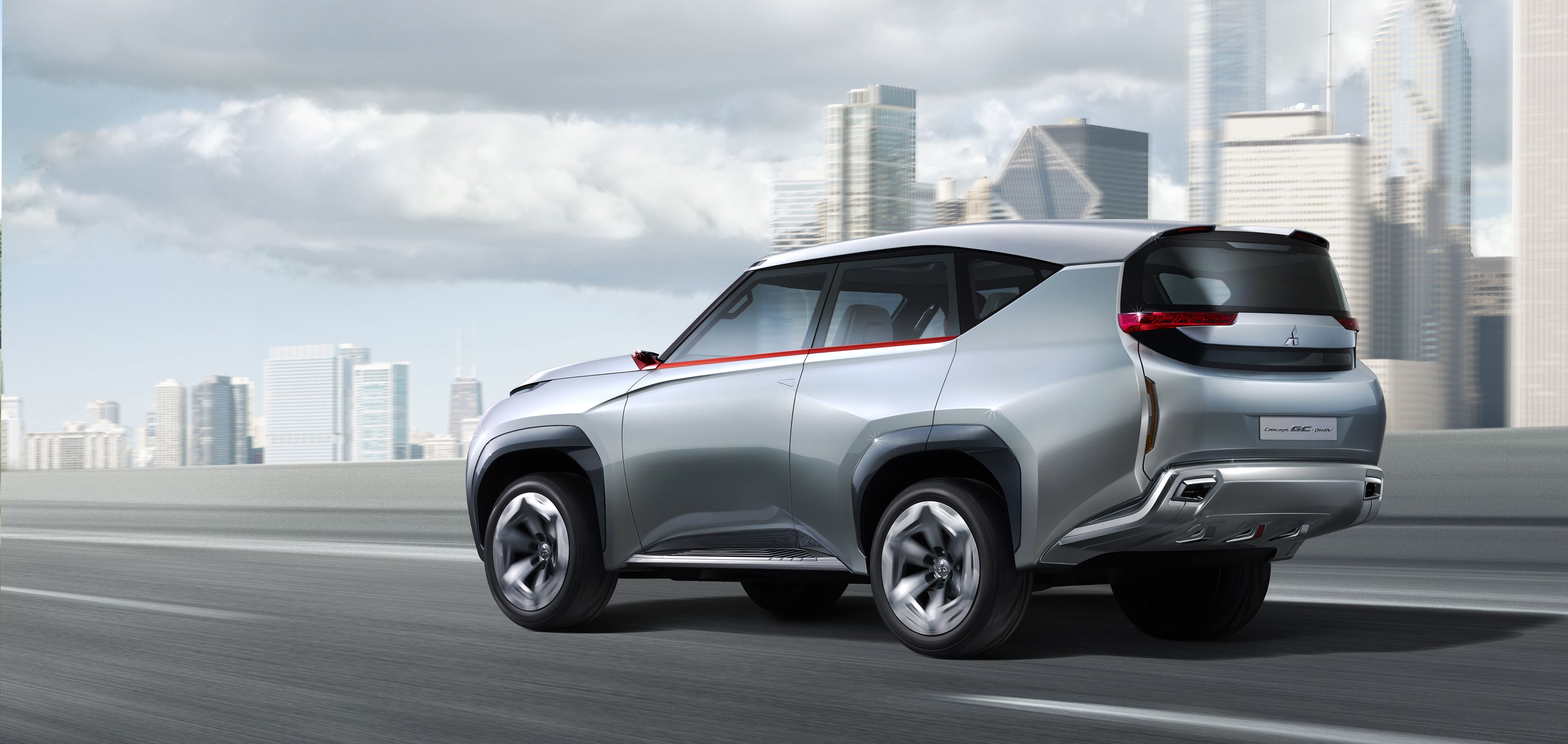 The mitsubishi concept gc phev is a next generation full size suv with