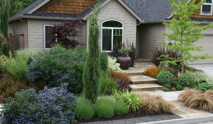 Wendover Portfolio Mosaic Gardens Landscape Garden Design And Construction In Eugene Orego Landscape Design Xeriscape Front Yard Garden Landscape Design