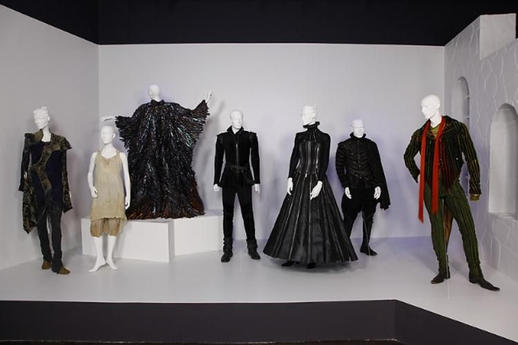 The Tempest Costumes On Display At The Fashion Institute Of Design And Marketing Fidm In Los Angeles Costume Design Stage Costume Fashion