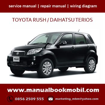 (CD) Service Manual Toyota Rush | Service Manual Toyota
