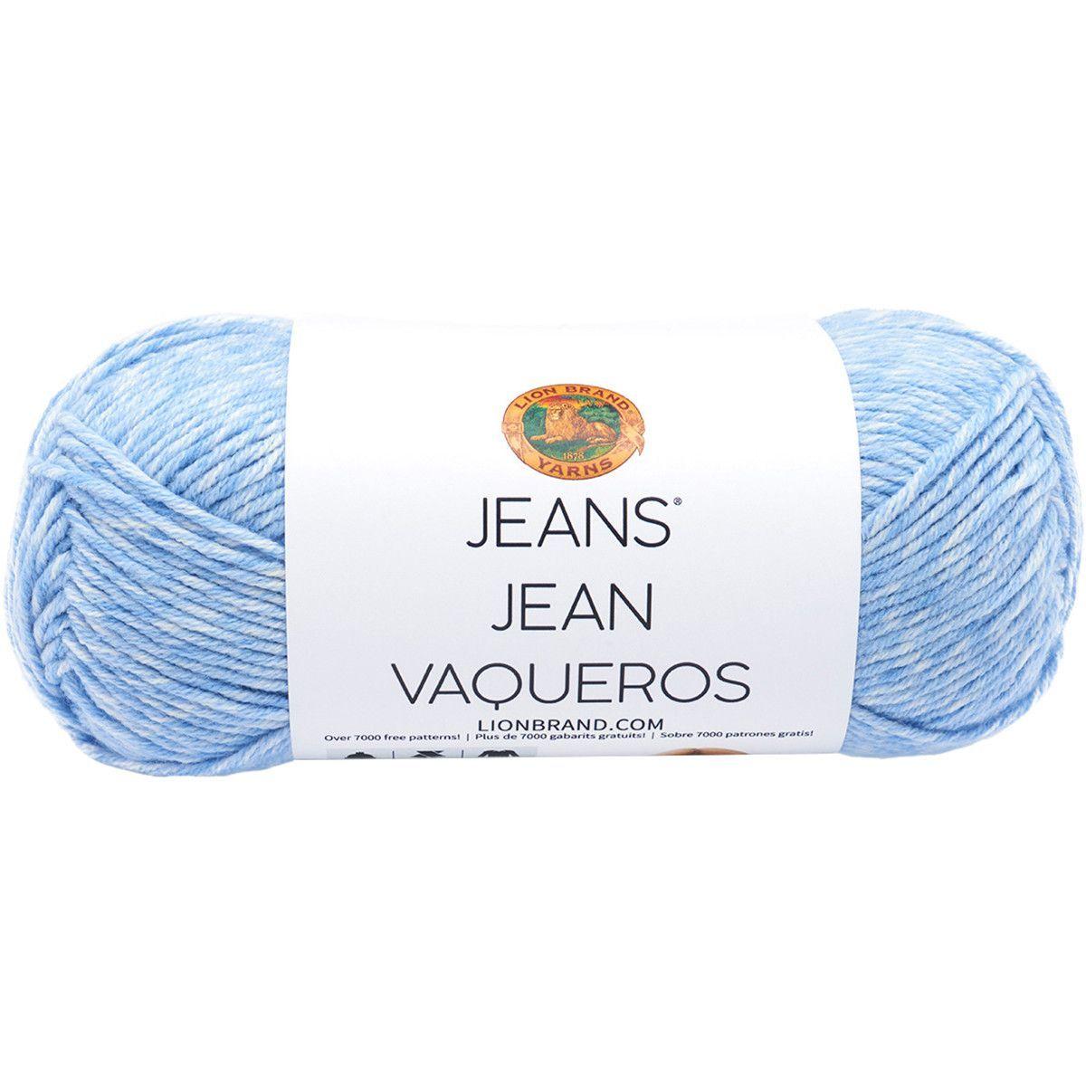 Lion Brand® Jeans® Yarn Faded