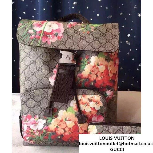 4f5ca3a919a5 Gucci 405019 Blooms Backpack Brown 2015 (1A171-082807 ) | Gucci ...