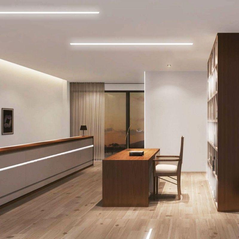 Led Profile Recessed External Outside Brick Light Downlight For Led Strip Aluminium Led Led Recessed Lighting Strip Lighting Kitchen Ceiling Light Design