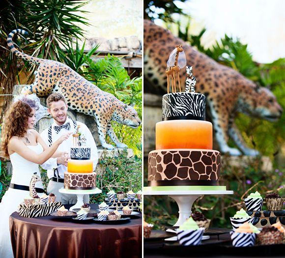 Wildly In Love A Super Fun Creative Animal Styled Wedding Shoot At Jacksonville Zoo Fab You Bliss