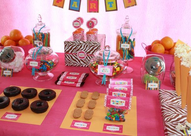 Introducing Slumber Party Ideas Pinterest Fiesta