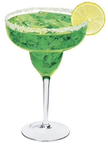 The Shamrock-arita...1 oz. Sauza Blue Gold Tequila ½ oz. melon liqueur 2 oz. lime juice 1 oz. simple syrup