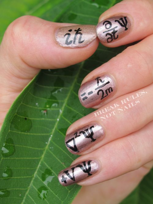 Amazing Geeky Nail Art Michelle Of Break Rules Not Nails Does All
