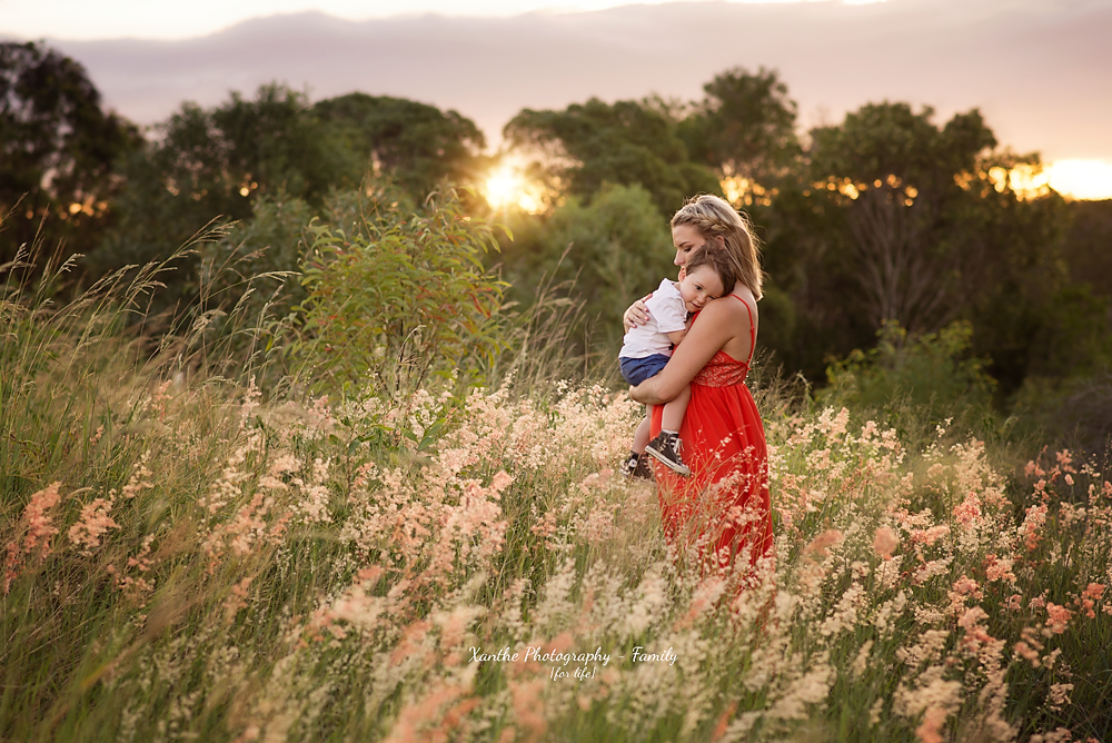 Xanthe Photography { for life }: Wild and Free - North Brisbane Family Photographer Mummy and Me Session Mother and Son