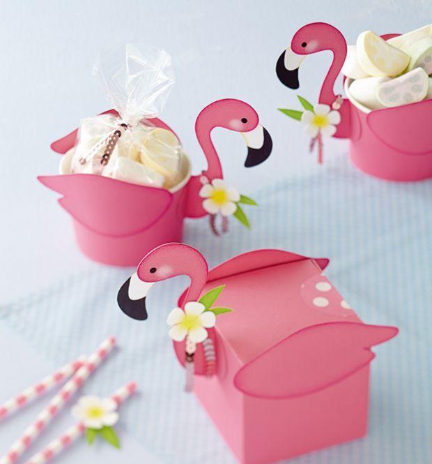 tierische schachtelparade punchart pinterest flamingo geburtstag geburtstage und schachteln. Black Bedroom Furniture Sets. Home Design Ideas