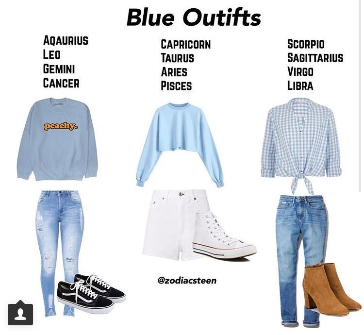 impactful outfits based on zodiac 12