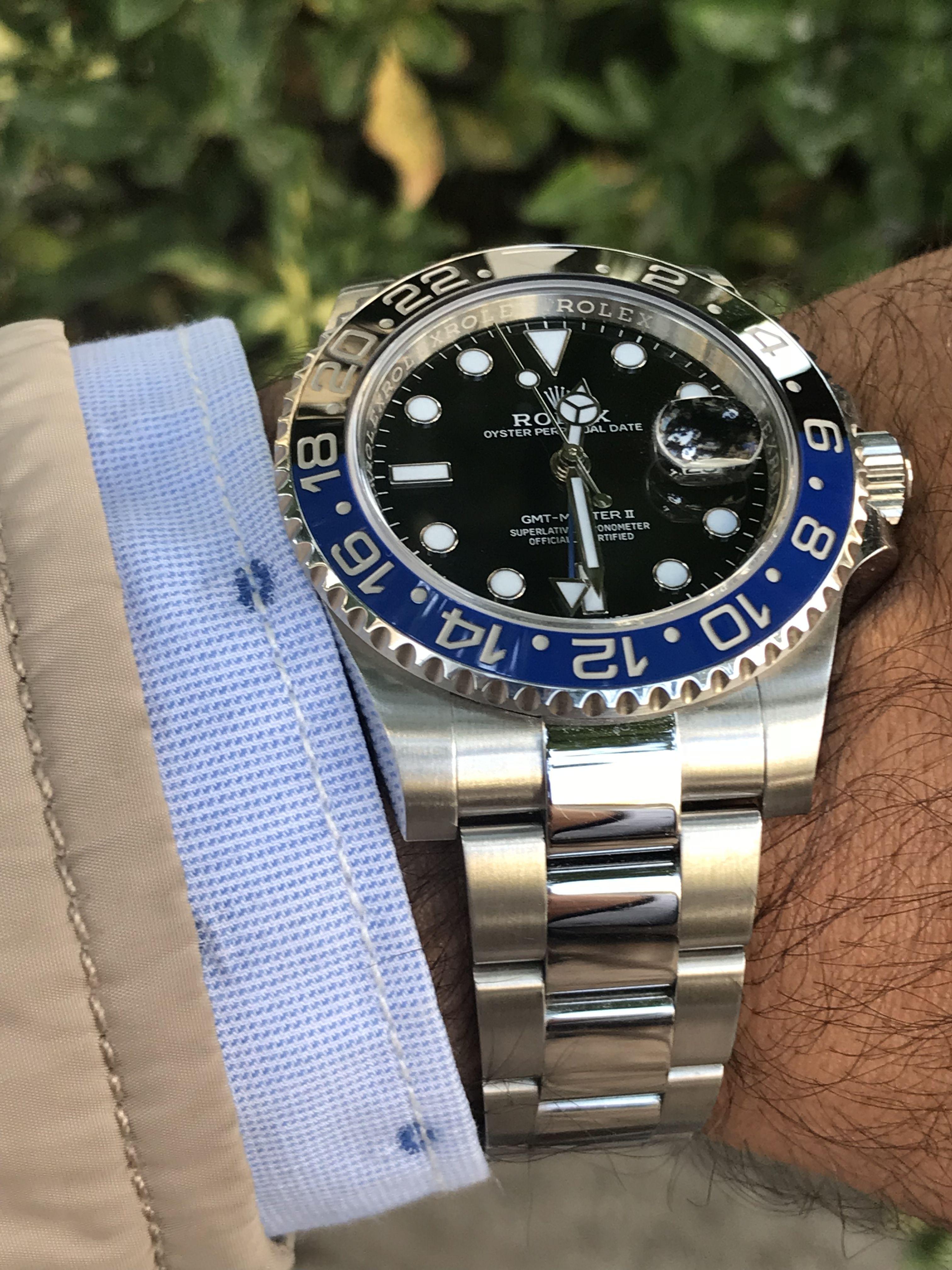 Rolex Gmt Master Ii Blnr Batman Rolex Gmt Rolex Gmt Master Rolex Watches