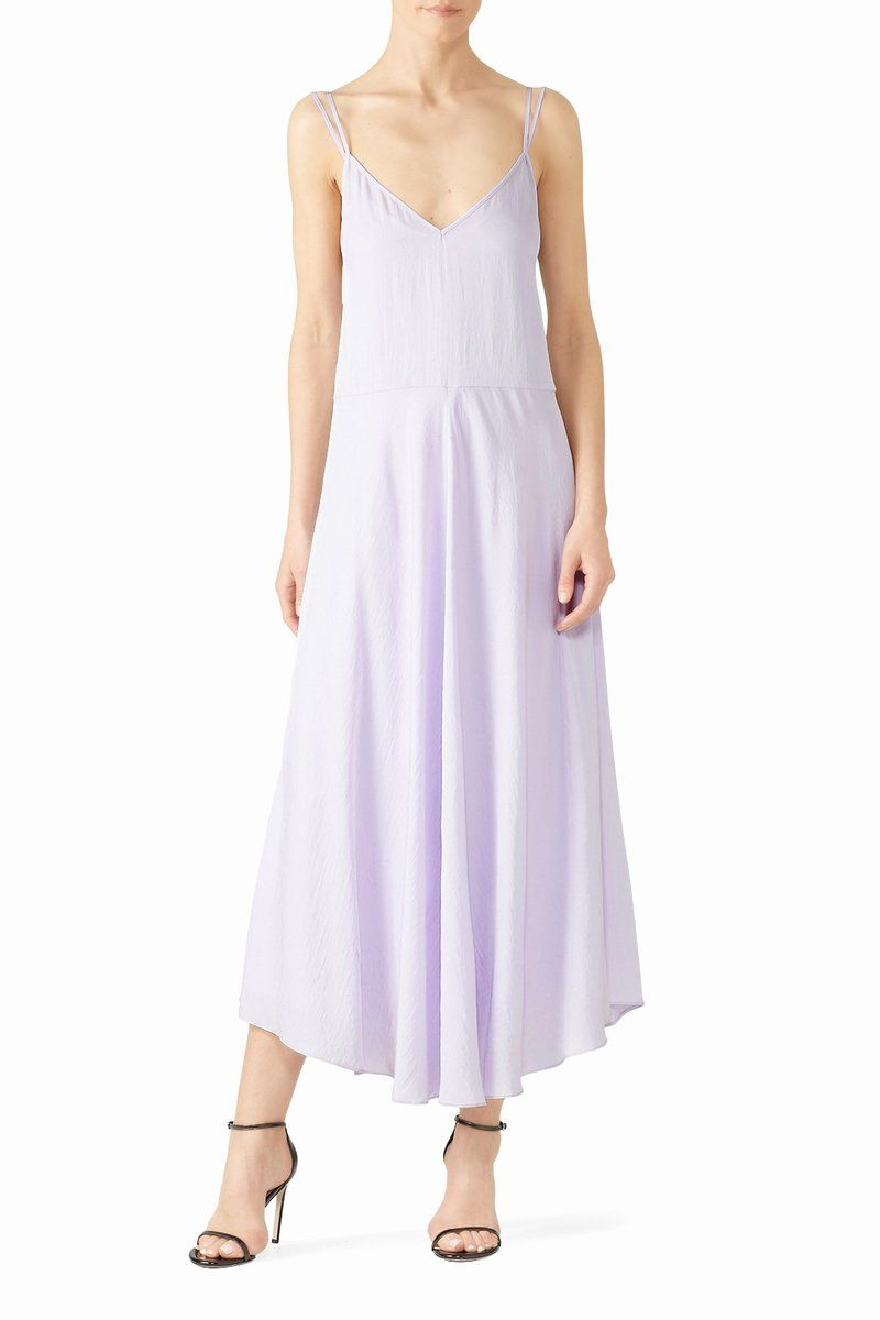 Cleaning Wedding Dress At Home Fresh Double Layer Cami Dress By Vince For 70 80 In 2020 Dresses Periwinkle Dress Simple Summer Dresses