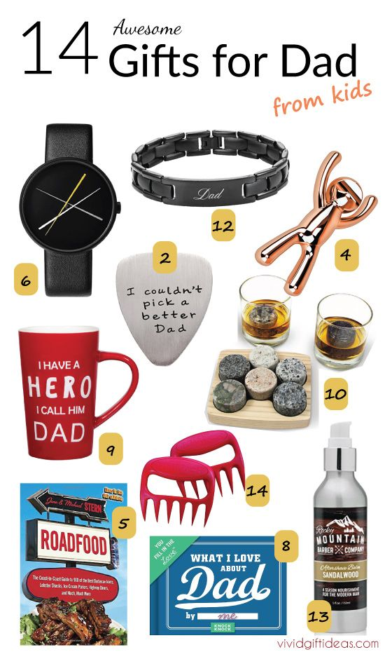 Gifts For Dad From Kids Unique Fathers Day Ideas Suitable Who Has Everything Son Daughter