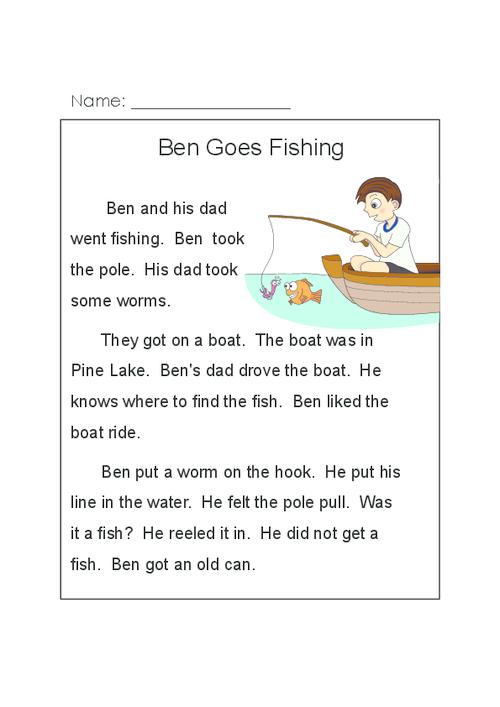 Ben Goes Fishing