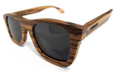 wooden framed sunglasses are sustainable and chic - Wood Framed Sunglasses