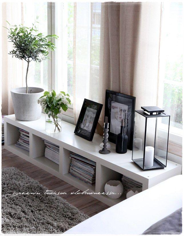 living room via vaaleanpunainen hirsitalo | divaaniblogit.fi ...
